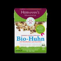 Herrmann's Fitnessmüsli Bio-Huhn mit Reisflocken und Zucchini – 500g