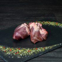 Herz von der Bio-Ziege, im Ganzen – 1 Stück