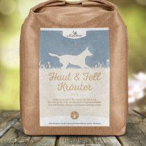 Haut- und Fell-Kräuter für Hunde, geschnitten – 250g