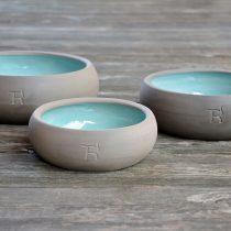 Treusinn Keramiknäpfe für Hund und Katz – S, M, L