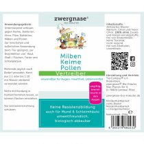 """""""Milben-Keime-Pollen Vertreiber"""" – Spray 250ml"""