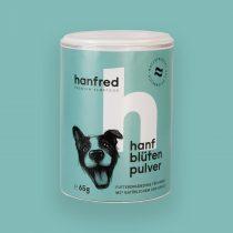 Hanfblütenpulver für Hunde von Hanfred – 65g