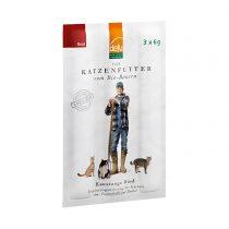 Kaustangerl vom Bio-Rind von Defu (Katzen) – 3 Stück