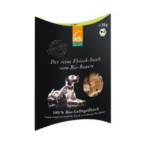 Reiner Fleisch-Snack Bio-Geflügel von Defu (Hunde) – 70g