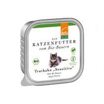 """Truthahn """"Sensitive"""" Pâté von Defu (Katze)- 100g"""