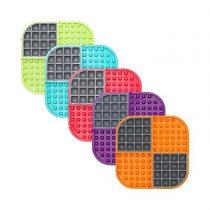 LickiMat® SloMo – verschiedene Farben – 20x20cm