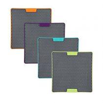 LickiMat® Soother Tuff – verschiedene Farben – 20x20cm